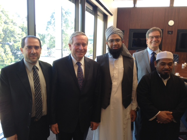 Premier of WA meets  representatives of the Muslim community at Parliament House