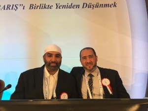 ICWA President Dr Rateb Jneid with delegate