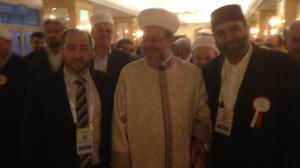 ICWA President Dr Rateb Jneid with the Presidency of Religious Affairs (Diyanet) Prof. Dr. Mehmet Görmez