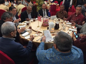 Regional leaders of south east Asia at the table