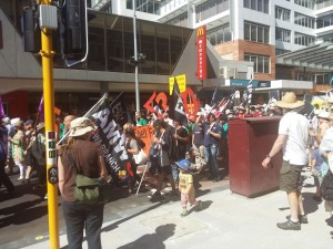 March through Hay Street