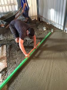 Laying floor for Kalgoorlie Mosque
