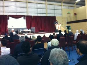 Qur'an recitation event Langford Islamic College Perth  22 June 2014